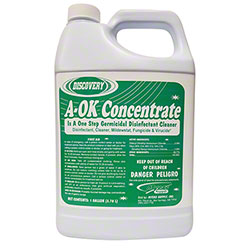 A-OK Concentrate Odor Eliminator/Neutral Disinfectant-Gal.