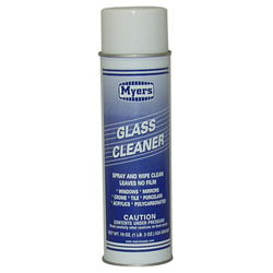 Myers Aerosol Glass & Plastic Surface Cleaner - 19 oz. Can