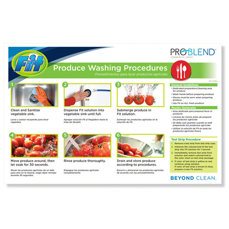 ProBlend™ Fit® Procedures Chart