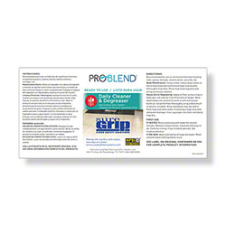 ProBlend™ SureGrip RTU Label Sheet
