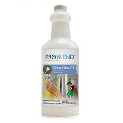 ProBlend™ Clear View RTU Glass Cleaner - Qt.