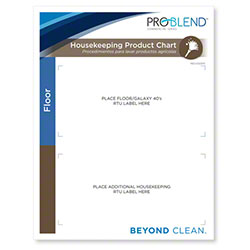 ProBlend™ Housekeeping Chart Extension