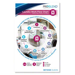 ProBlend™ Laundry Work Flow Chart