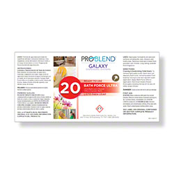 ProBlend™ Galaxy-20 Bath Force Ultra RTU Label Sheet