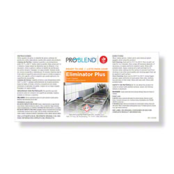 ProBlend™ Eliminator Plus RTU Label