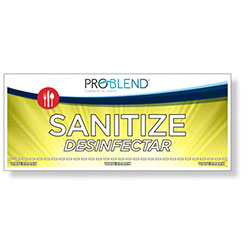 ProBlend™ Sanitize - Third Sink Label