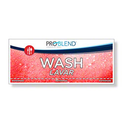 ProBlend™ Wash - Third Sink Label