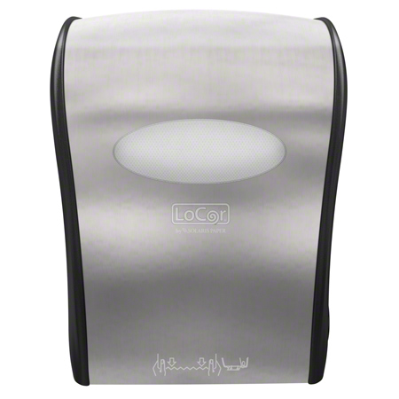 LoCor® Mechanical Hard Wound Towel Dispenser - Stainless