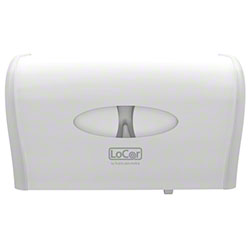 LoCor® Side by Side Bath Tissue Dispenser - White