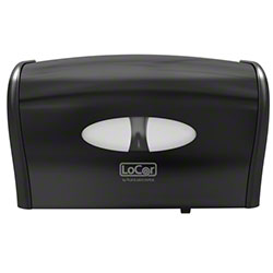 LoCor® Side by Side Bath Tissue Dispenser - Black