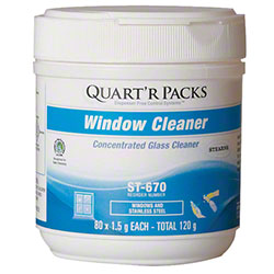 Stearns® QUART'R PACKS Window Cleaner - 1.5 g