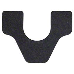 WizKid Black Commode/Toilet Mat