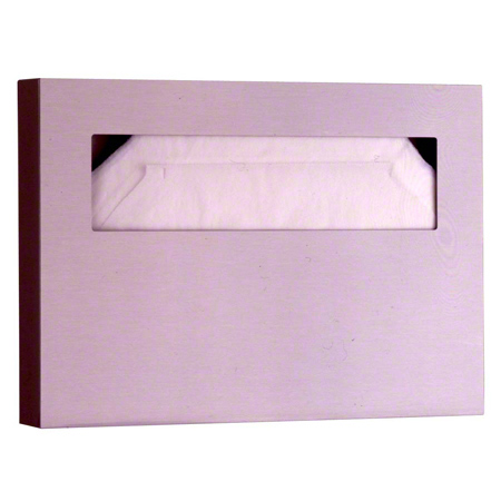 S/S SEAT COVER DISPENSER SATIN-FINISH 1/EA