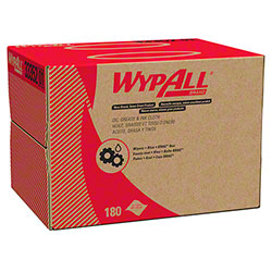 "WypAll® Oil, Grease & Ink Cloth - 16.8"" x 12.1"", Blue"