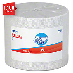 "WypAll® X50 Jumbo Roll Disposable Cloth - 9.8"" x 13.4"", White"
