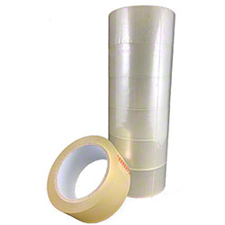 "Box Sealing Tape #211 - 2"" x 110 yd., 2 mil, Clear"