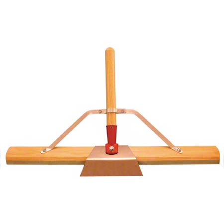 BRUSH HANDLE ARM BRACE F/ WOOD PUSH BROOM, 12/CS