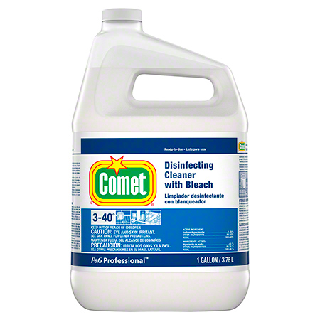 COMET DISINFECTING CLEANER W/ BLEACH 3GL/CS