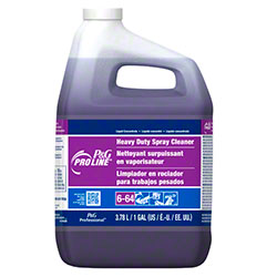 Pro Line® #64 Heavy Duty Spray Cleaner - Gal.