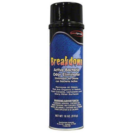 BREAKDOWN ACTIVE BACTERIA ODOR  ELIMINATOR 18OZ. 12/CS