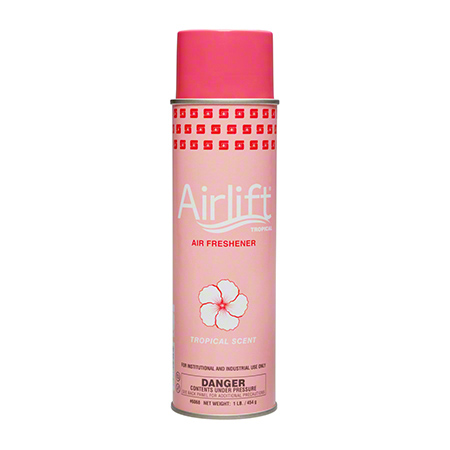 AIRLIFT TROPICAL AIR FRESHENER  16OZ. AEROSOL 12/CS