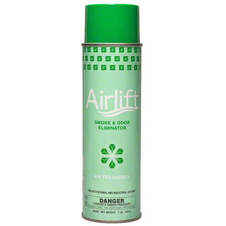 AIRLIFT SMOKE & ODOR ELIMINATOR 16OZ. AEROSOL 12/CS