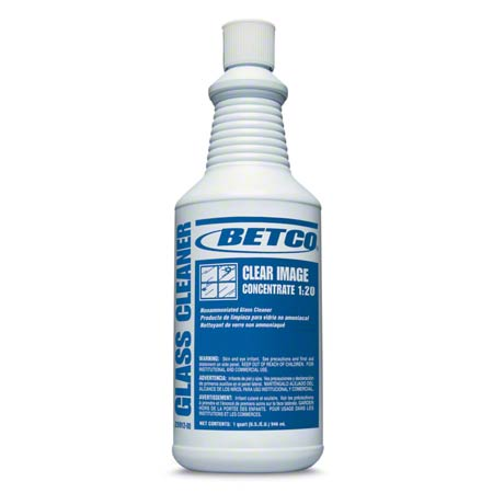 Betco® Clear Image Concentrate 1:20 Glass Cleaner - Qt.
