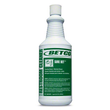 Betco® Sure Bet™ Foaming Shower/Restroom Cleaner - Qt