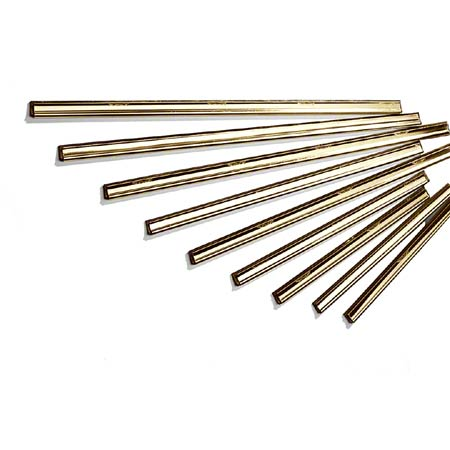 Ettore® Master Brass Channels with Rubber - 10""