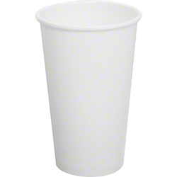 Karat® White Paper Hot Cup - 16 oz.