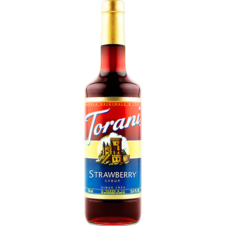 Torani® Strawberry Syrup - 750 mL