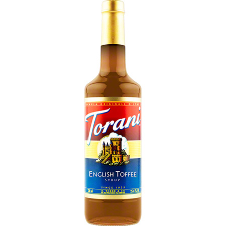 Torani® English Toffee Syrup - 750 mL