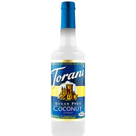 Torani® Sugar Free Coconut Syrup - 750 mL