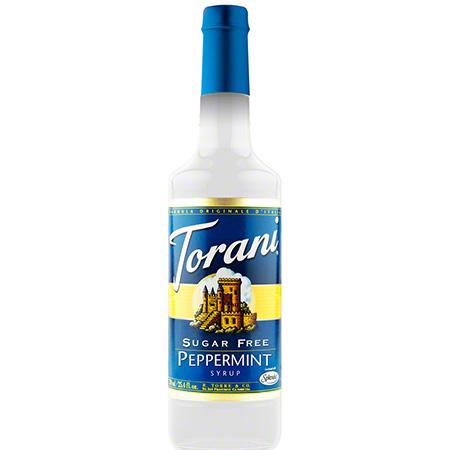 Torani® Sugar Free Peppermint Syrup - 750 mL