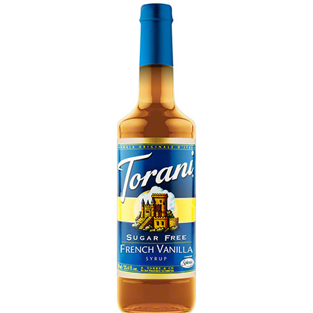 Torani® Sugar Free French Vanilla Syrup - 750 mL