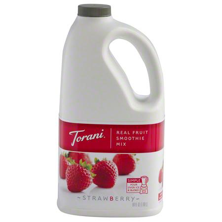 Torani® Strawberry Real Fruit Smoothie Mix - 64 oz.