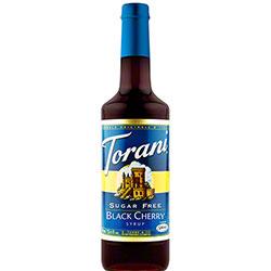 Torani® Sugar Free Black Cherry Syrup - 750 mL