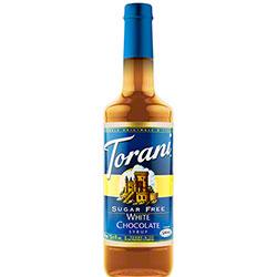 Torani® Sugar Free White Chocolate Syrup - 750 mL