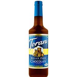 Torani® Sugar Free Chocolate Syrup - 750 mL
