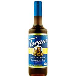 Torani® Sugar Free Pumpkin Pie Syrup - 750 mL