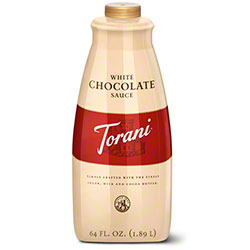 Torani® White Chocolate Sauce - 64 oz.
