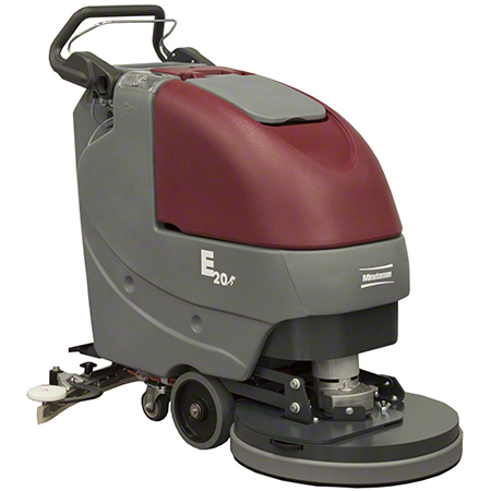 "Minuteman® E17 Walk Behind Scrubber-17"" Disc, Brush Drive"