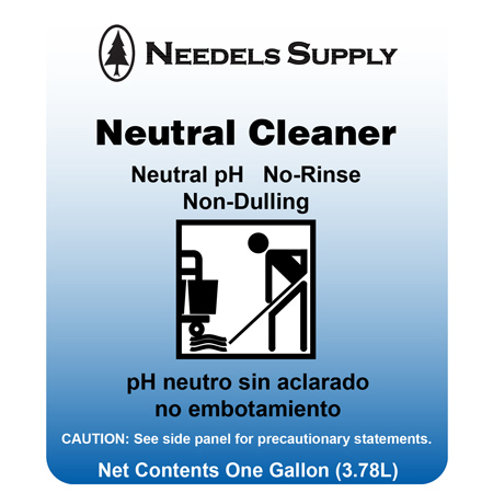 Neutral Floor Cleaner - Gal.