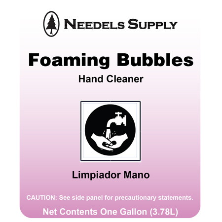 Foaming Bubbles Hand Cleaner - Gal.