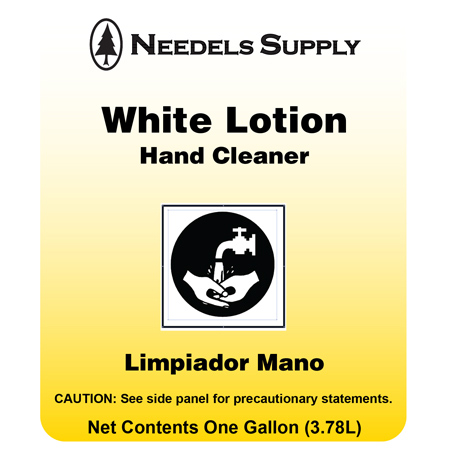 White Lotion Hand Cleaner - Gal.