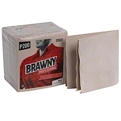 GP Brawny Industrial® Light Duty 3-Ply 1/4 Fold Wiper