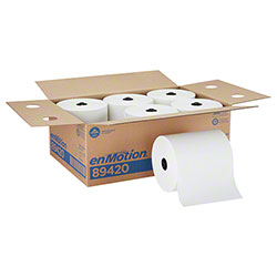 GP enMotion® High Capacity 1-Ply Roll Towel - White
