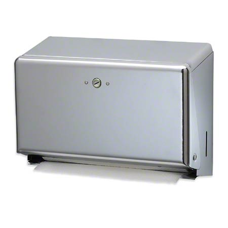 San Jamar® Mini C-Fold/Multifold Towel Dispenser - Chrome