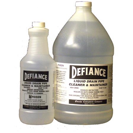DEFIANCE Drain Pip Cleaner - Gal.