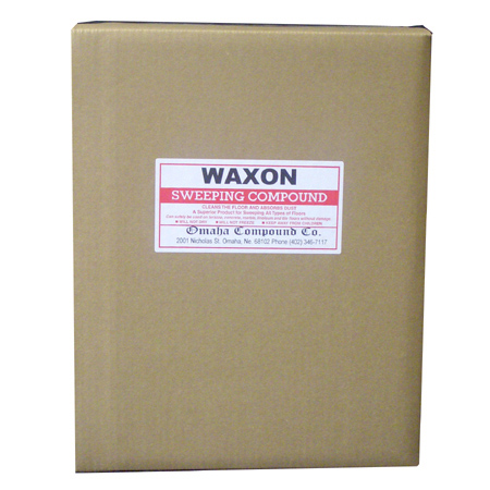 DEFIANCE WAXON Sweeping Compound - 50 lb. Box